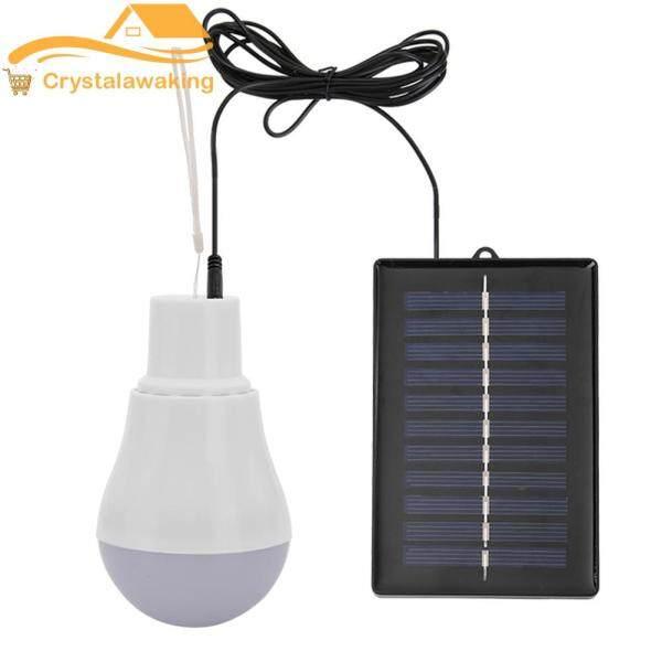 Di Động 15W Năng Lượng Mặt Trời Công Suất Ánh Sáng Ngoài Trời Tiêu Thụ Điện Năng Thấp Bóng Đèn LED USB Sạc Đèn