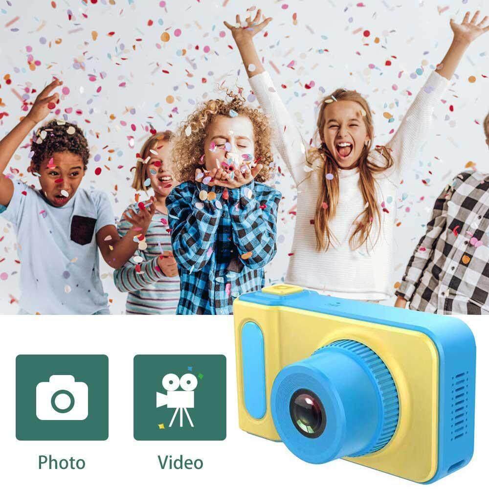 Niceeshop เด็กดิจิตอล Camera Hd 800 W 1080 P กล้องถ่ายภาพของเด็ก 2.0 หน้าจอขนาดนิ้วกล้องของเล่นเด็กหญิงวันเกิด By Nicee Shop.