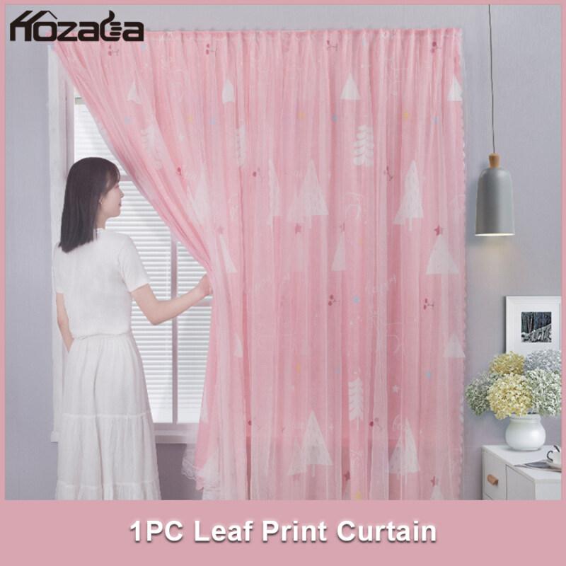 Hozada Rèm cửa Độ bóng 40% -50% Thích hợp cho phòng ngủ, phòng khách 1 PCS 1pcs Curtains Blackout Shading Curtains UV Protection Draperies Home Bedroom Printing Balcony Thermal Insulated Curtains120x150cm/180x180cm