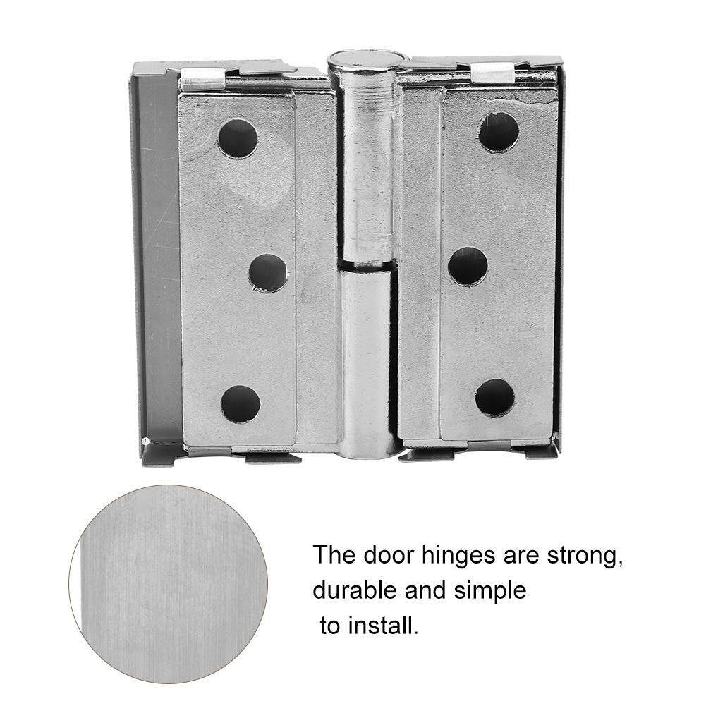 MY-4*3 Thicker Stainless Steel Zinc Alloy Bathroom Internal Doors Bearings Folding Door Hinge