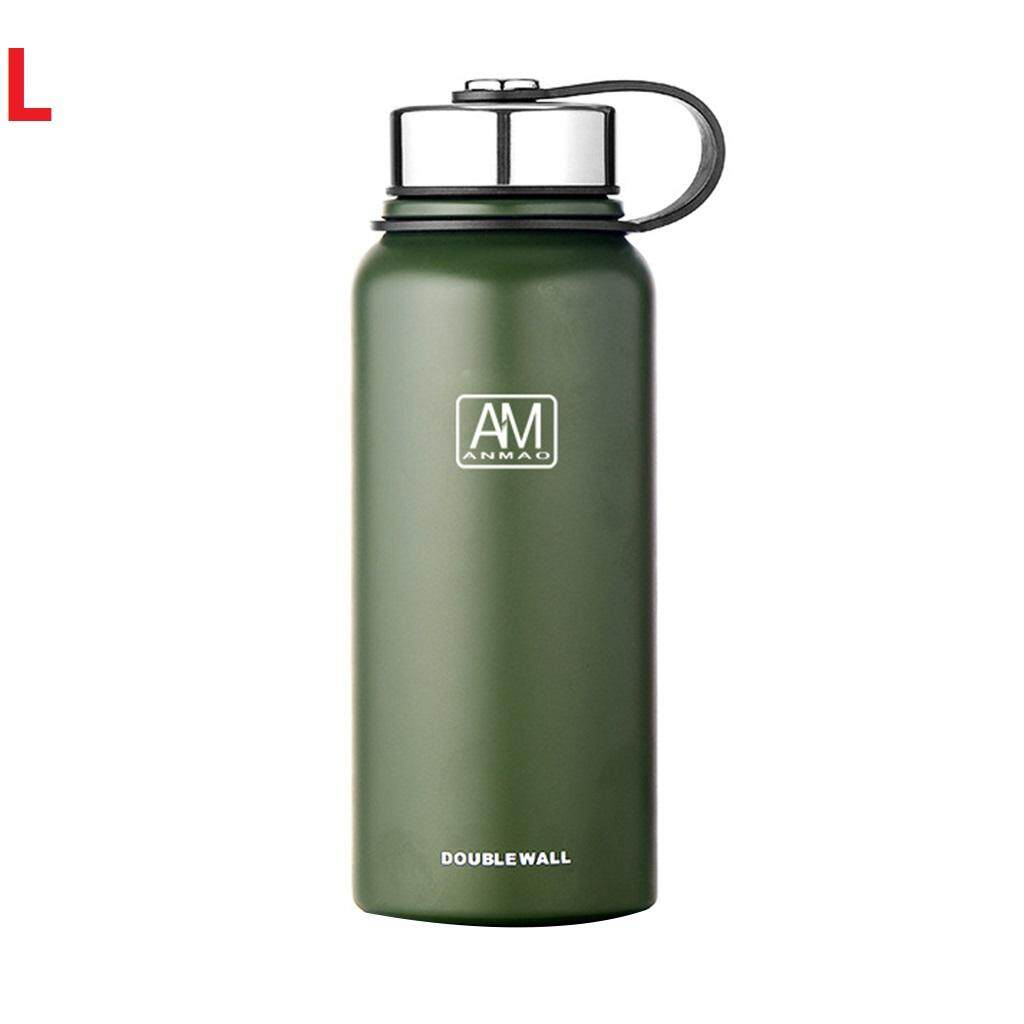 cf4cfc542 1pc 610ml 800ml 1100ml 1500ml New Double Layered Stainless Steel Thermos  Cup Insulated