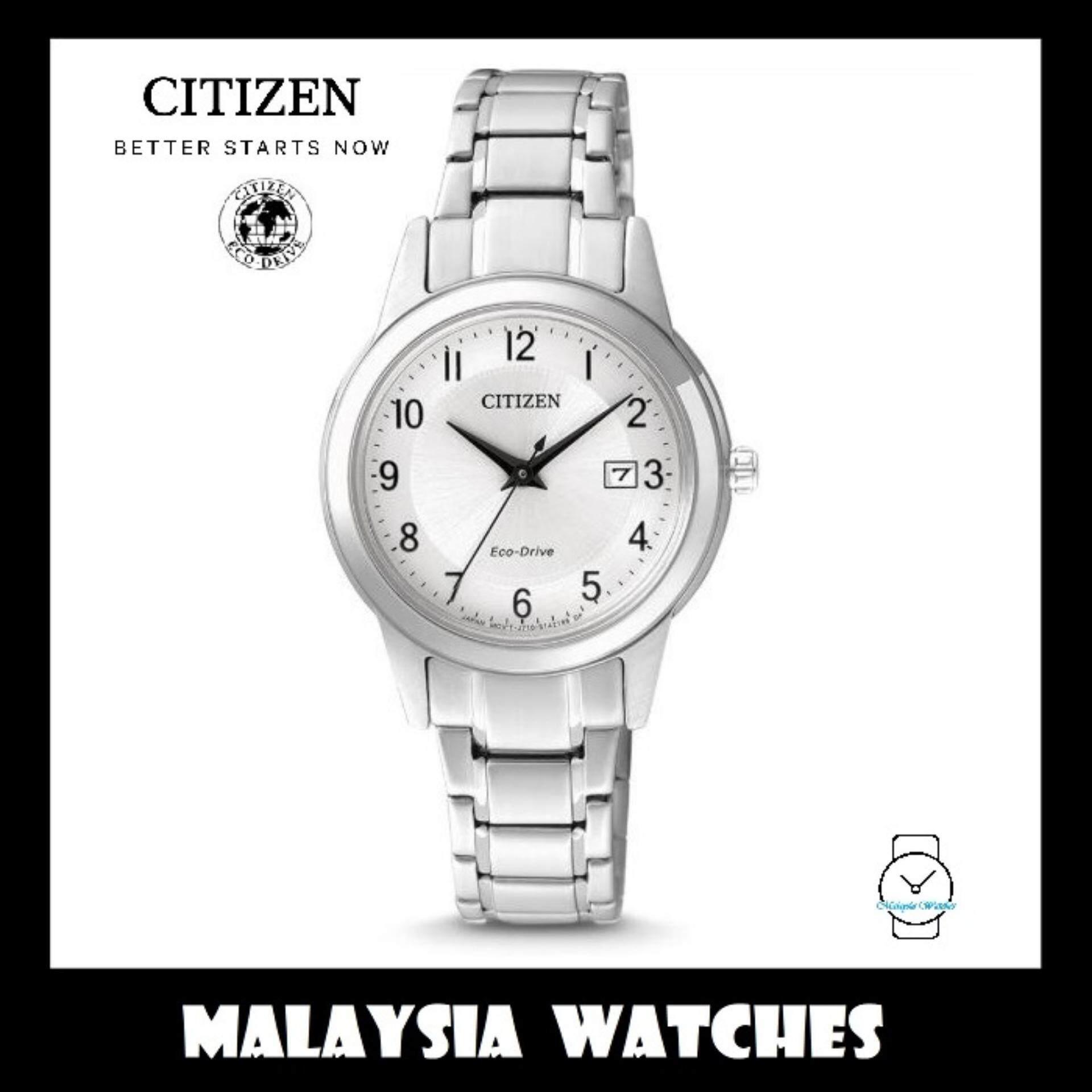 Ready Stock! Discount (100% Original) Citizen FE1081-59B Eco-Drive Ladies Watch Exquisite  Luxury Exquisite Low Price Malaysia