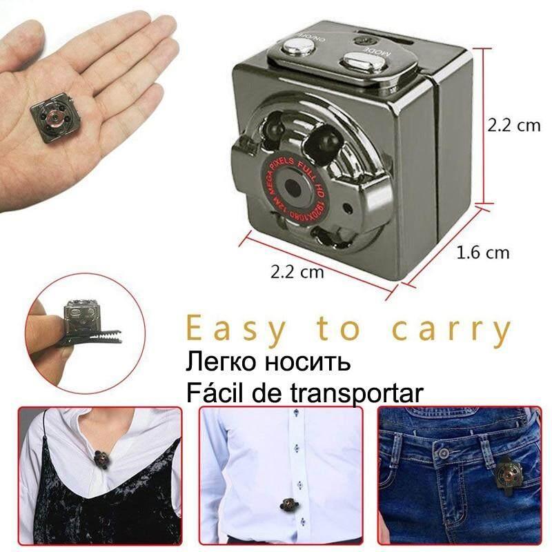 Thông Minh HD 1080 P Nhỏ Bí Mật Micro Mini Camera Video Cam Tầm Nhìn Ban Đêm Không Dây Cơ Thể Đầu Ghi DV Nhỏ Minicamera Microchamber Với Giá Sốc