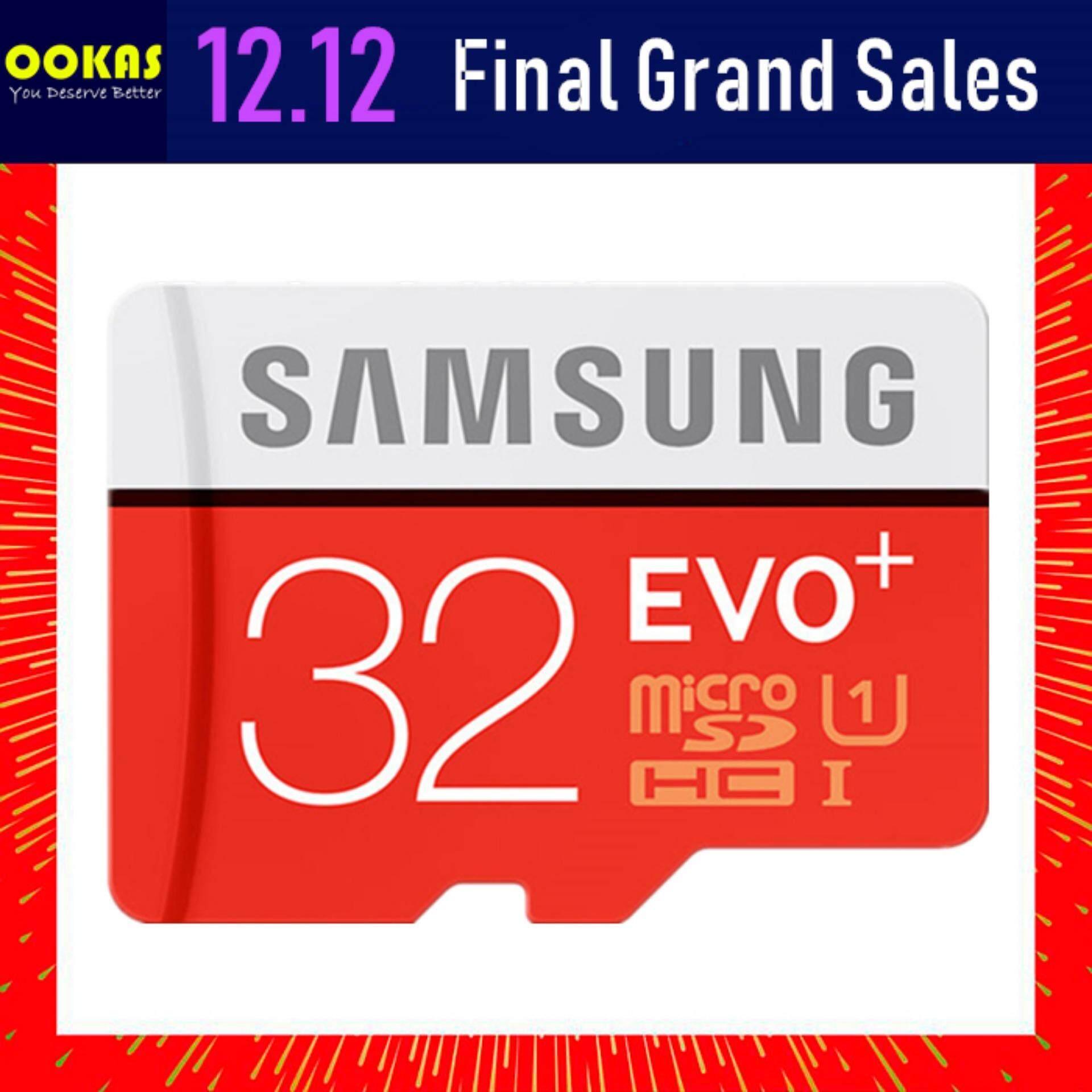 Samsung 95MB/s Class 10 Evo Plus 32GB Card MicroSD