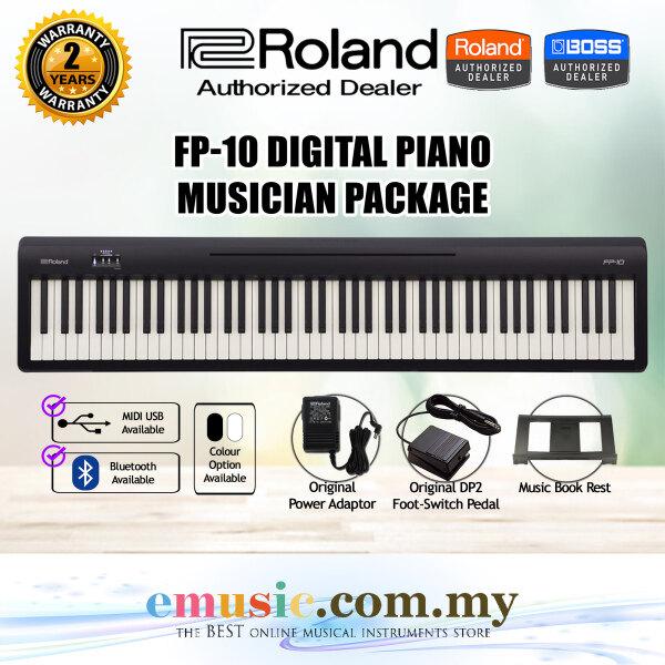 Roland FP-10 88-key Digital Piano (FP10 / FP 10) Malaysia