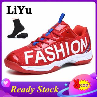 Giày Chơi Cầu Lông LiYu Cho Nam Và Nữ, Giày Thể Thao Chống Trượt, Chống Mài Mòn, Phong Cách Thường Ngày-Intl thumbnail