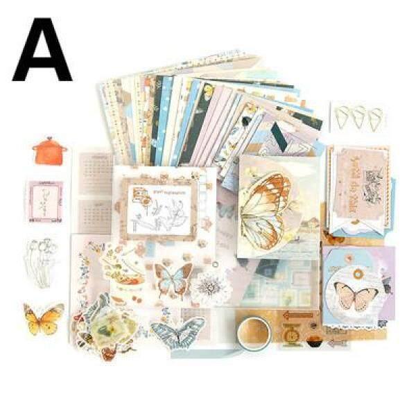 Mua Cái/bộ 154 Miếng Dán Băng Dính Dòng Album Văn Học Giấy Bộ Sổ Tay Nhật Ký Ins Trang Trí Tự Làm
