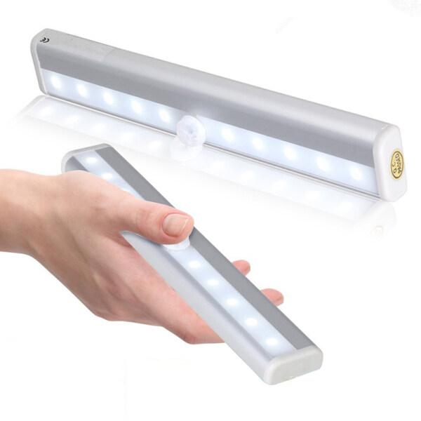 Bảng giá [Hàng Có Sẵn] Đèn LED Cảm Biến Chuyển Động Đèn Ngủ Tự Làm Đèn Ngủ Dễ Dàng Gắn Vào Mọi Nơi Tủ Cầu Thang Không Dây Thanh Đèn, 1 Cái