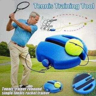 Bóng Tennis Huấn Luyện Viên Quần Vợt KDQS, Bóng Tập Luyện Đơn Dụng Cụ Huấn Luyện Cơ Sở Lưng thumbnail