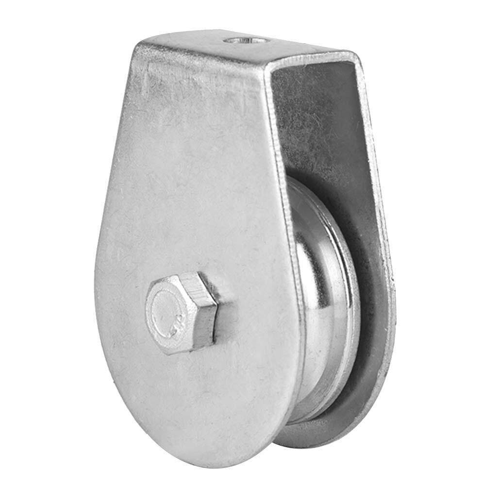 Single Swivel Pulley Block 0.3 Tons Roller Lifting Wheel for Wire Rope #02