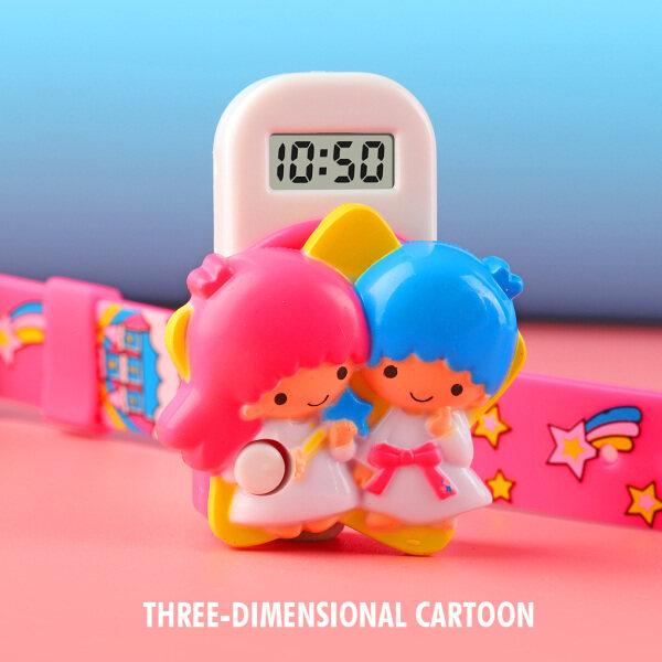 Skmeilde Children Watch 3D Cartoon Electronic Watch Boy Girl Waterproof Digital Watch Toy Watch Plastic Children Watch Fashion Stereo Doll Watch Malaysia