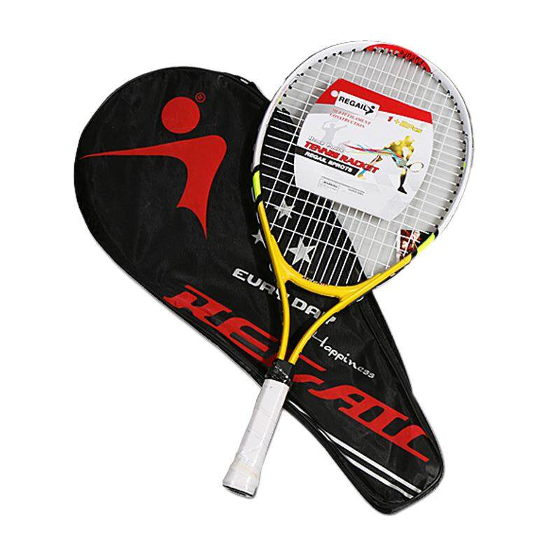 Bảng giá REGAIL 1 Pcs TeenagerS Training Tennis Racket Aluminum Alloy Racquet with Bag for Chidlren Beginners