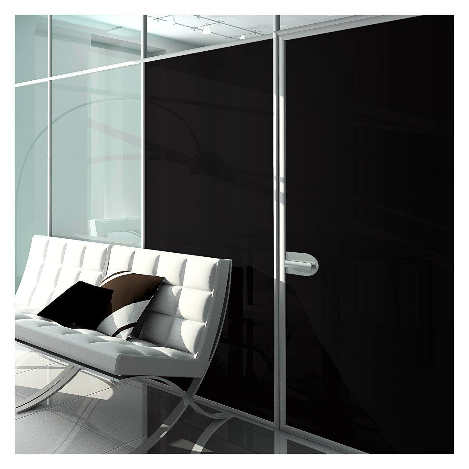 Window Film Blackout Non Adhesive Static Cling - 36in X 7ft