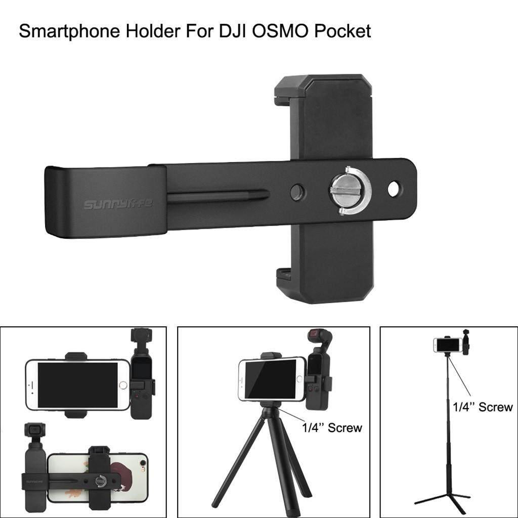 Vivimall Smartphone Fixing Clamp 1/4 Holder Mount Bracket For Dji Osmo Pocket Gimbal By Vivimall.