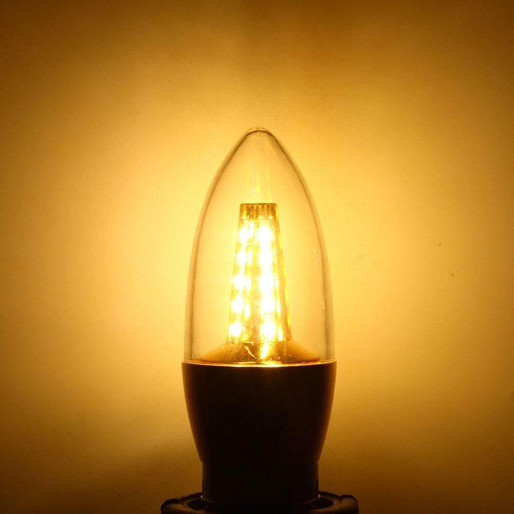 Zada Mall แฟชั่น Tiktok ขายดี!!! แสงเทียน Led หลอดไฟ Bright 35led 7 W โคมไฟตกแต่งบ้าน By Zada Mall.