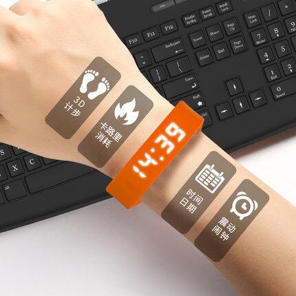 Vòng Đeo Tay Thông Minh Thể Thao Đồng Hồ Điện Tử, Không Có Bluetooth Đồng Hồ Báo Thức Rung Chống Nước Cho Học Sinh Nam Nữ Chạy Bộ Khi Ngủ Máy Đếm Bước Thể Thao Led Sức Khỏe Bóng Rổ Đa Năng Xiaomi Huawei 34pro Nâng Cấp Chống Nước Mới 2 Bộ Báo Động Cl