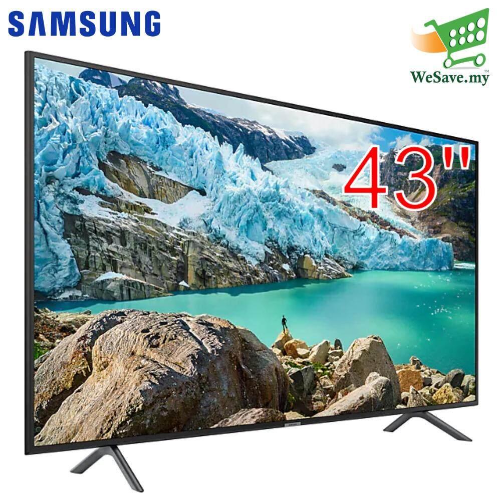 *Display Unit* Samsung UA43RU7100KXXM 43 Flat Smart 4K UHD TV (Original) 2 Years By Samsung Malaysia