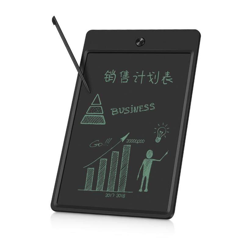 Threetrees 8.5 Inci Tablet LCD Tulisan dengan Kantong Carring dan Aksesori Kit bantalan Kertas Memo Kantor Elektronik Menulis Menggambar Pad Papan Gambar Hadiah untuk Anak-anak atau untuk Kantor Digunakan-Menghapus Kunci Tombol Termasuk