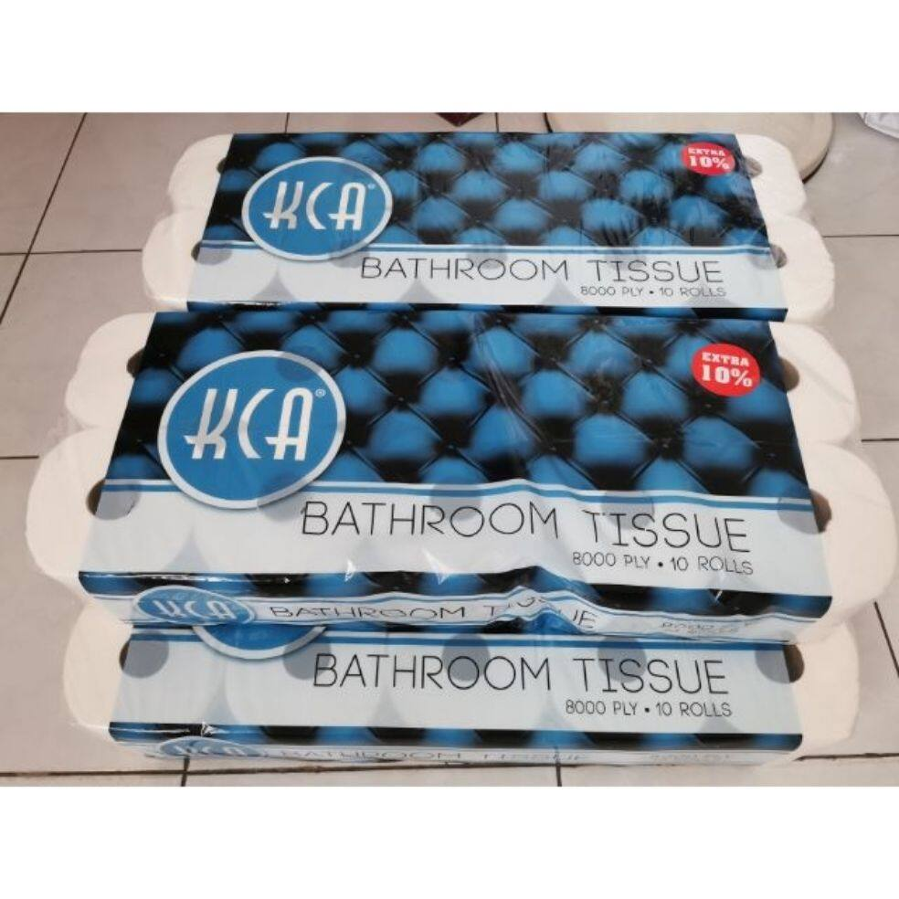 Kca Bathroom Tissue 8000ply X 10 Roll Lazada