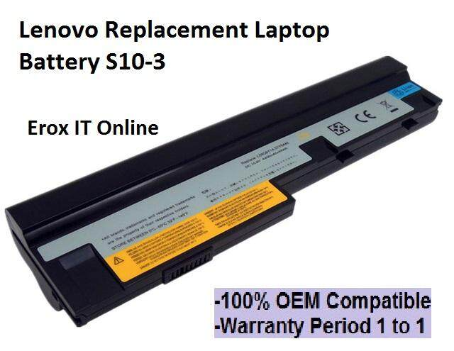 Replacement Laptop Lenovo for IdeaPad S100 Battery  Lenovo S10-3 Battery Malaysia