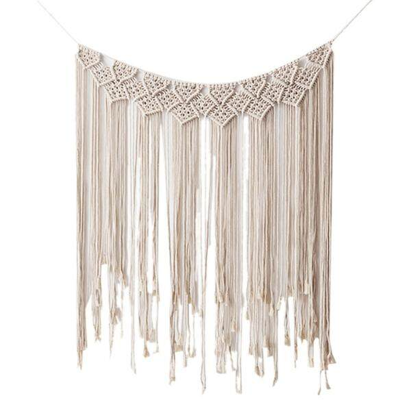 Nordic Decorative Hand-woven Tapestry Home Wedding Wall Ornaments Bohemian Style Wall Hanging Decorations