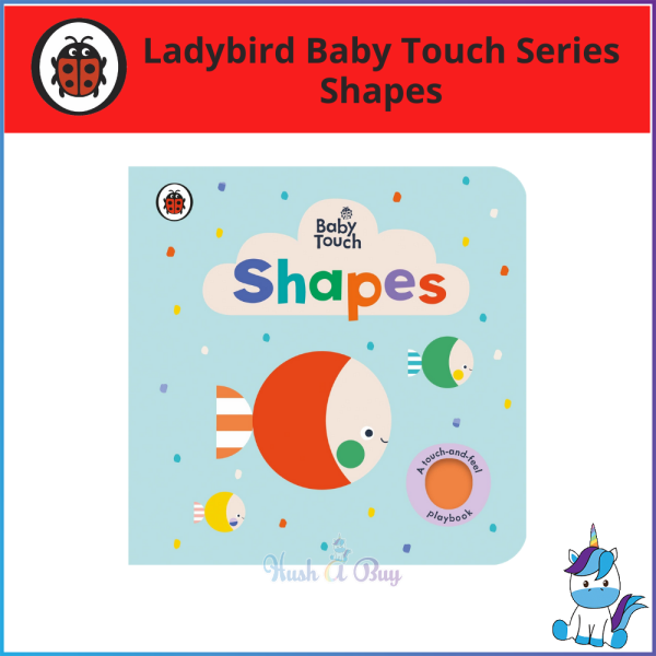 Ladybird Baby Touch: Shapes [A Touch and Feel Playbook] Malaysia