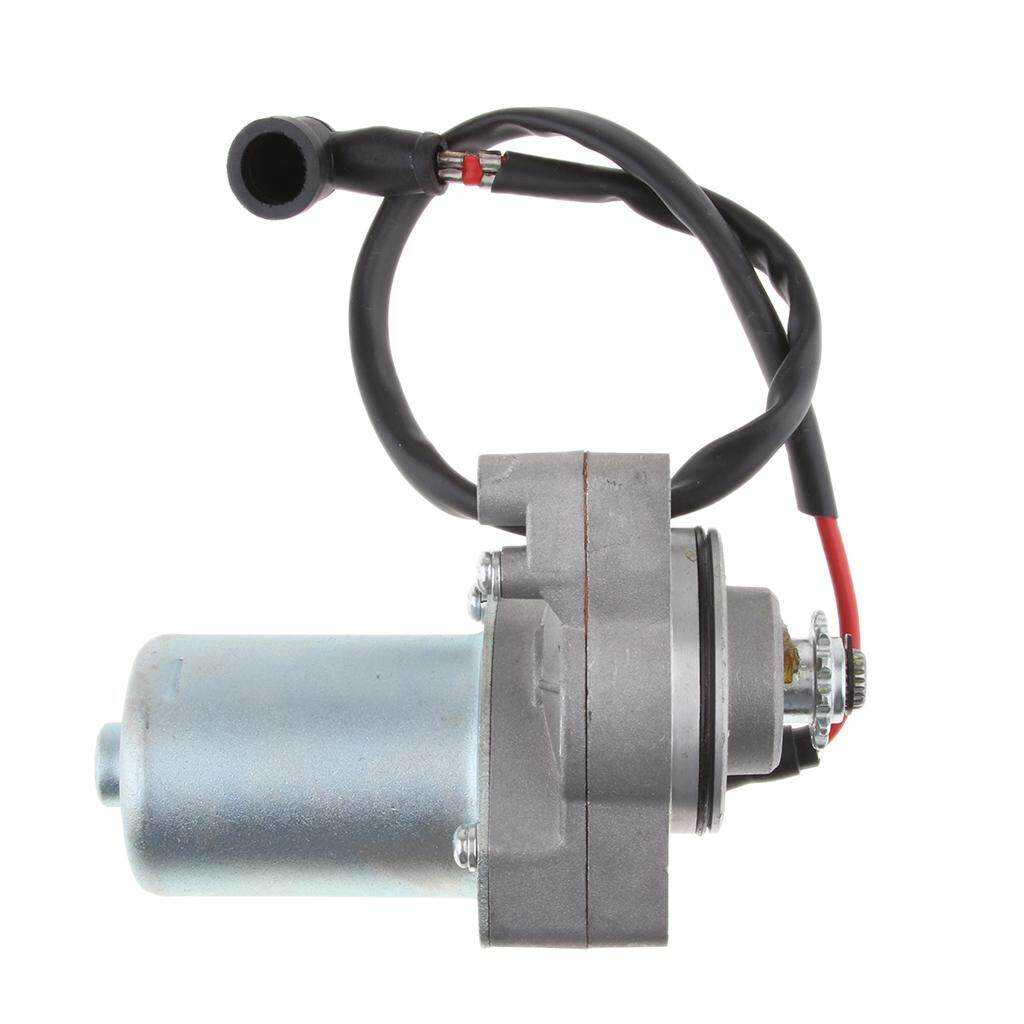 Motorcycle Scooter Atv Quad Electric Starter Motor For 50cc 70cc 90cc 110cc Silver Electric Starter Motor Back To Search Resultshome