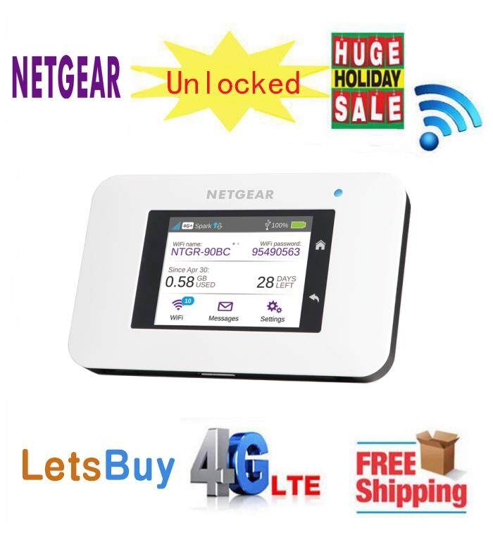 Netgear Aircard 800S (AC800S) LTE Cat9 Mobile Hotspot (Unlocked) plus Jump  Boost Data line LTE Band B1/B3/B7/B28/B40