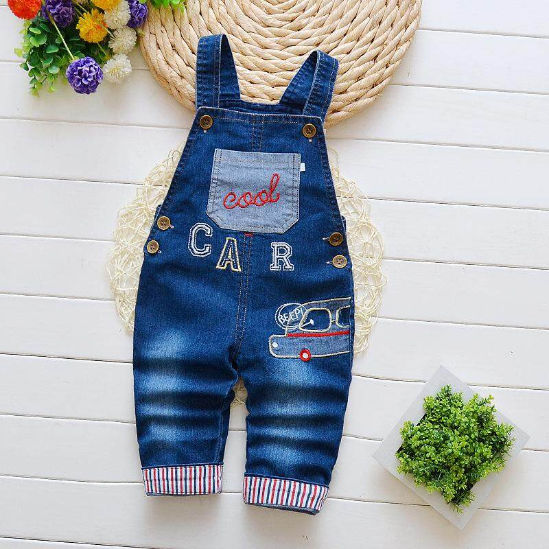 35719a10 IENENS Toddler Infant Boys Long Pants Denim Overalls Dungarees Kids Baby  Boy Jeans Jumpsuit Clothes Clothing
