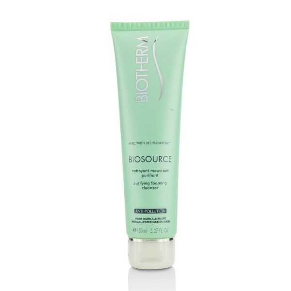 Buy BIOTHERM - Biosource Purifying Foaming Cleanser - Normal to Combination Skin 150ml/5.07oz Singapore