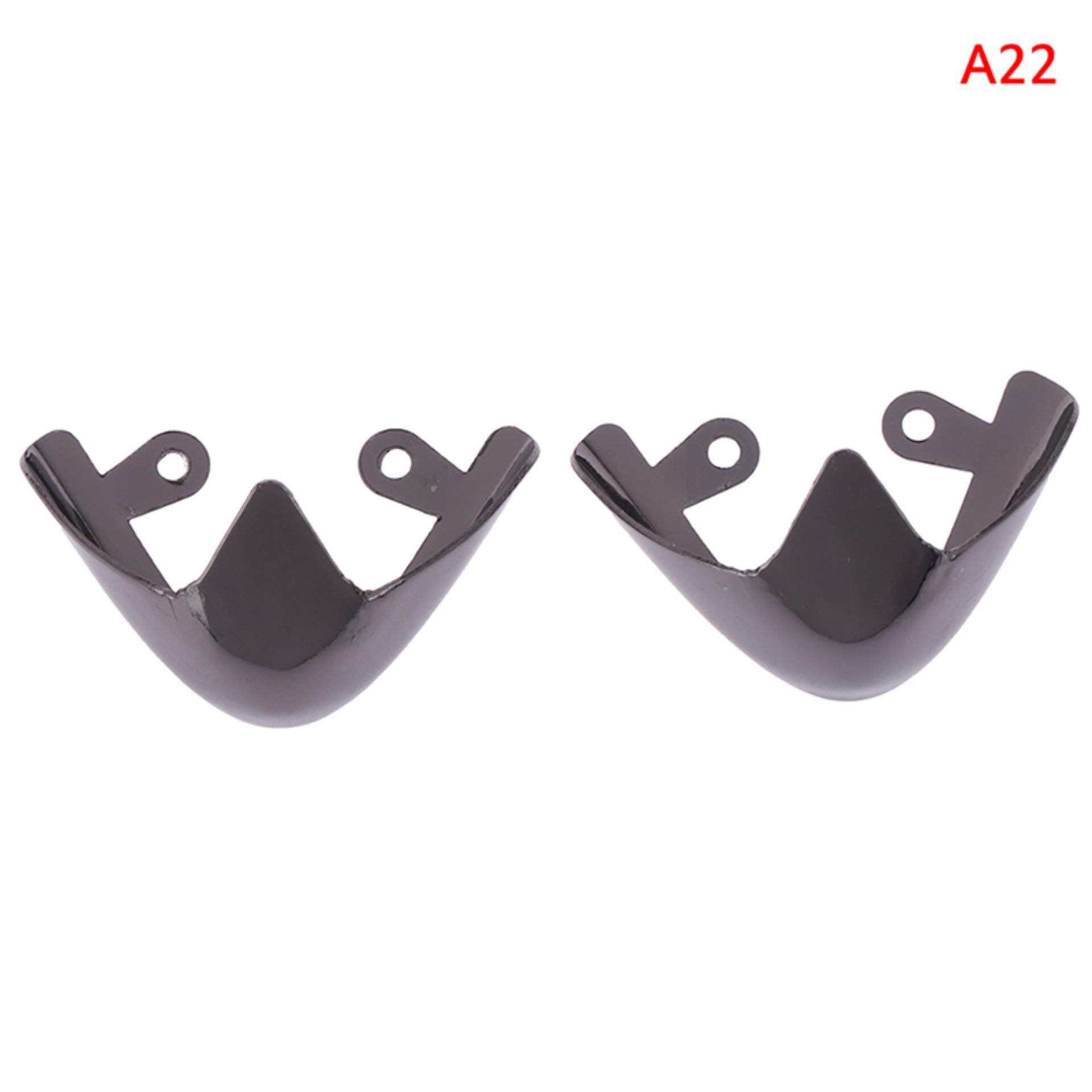 1Pair shoes toe protection metal material for decorations reapair accessories