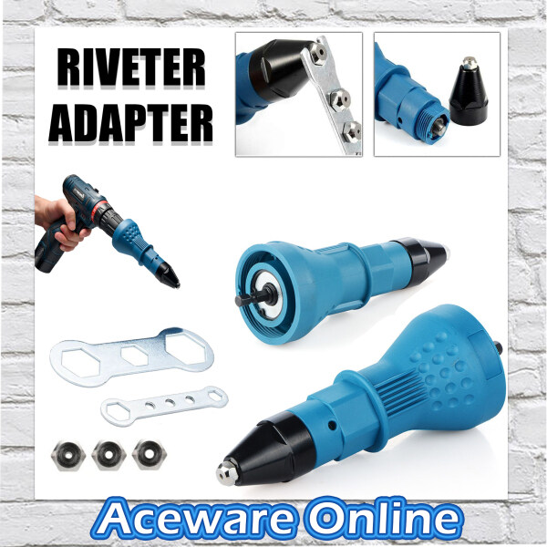 RIVETER ADAPTER CORE RIVETING TOOL FOR ELECTRIC DRILL SCREWDRIVER TOOLS