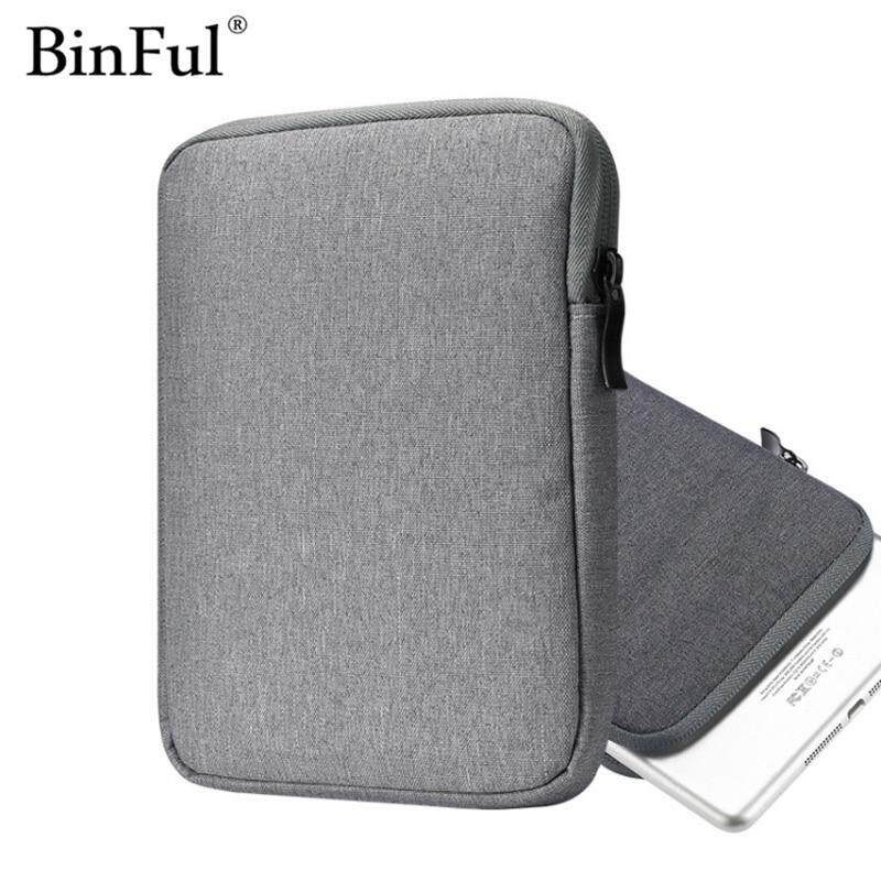 Cellphones & Telecommunications Shockproof Tablet Bag For Kindle 6 Inch For Macbook 11 13 12 15 Inch Zipper Nylon Waterproof Bag Universal Liner Sleeve Pouch A Great Variety Of Goods Phone Pouch
