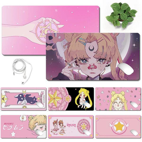 Sailor Moon Mouse Pad Cartoon Printing Mouse Pad Office Laptop Game Pad Malaysia