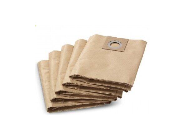5p Karcher Paper Filter Bag For NT38/1 9.755-289.0