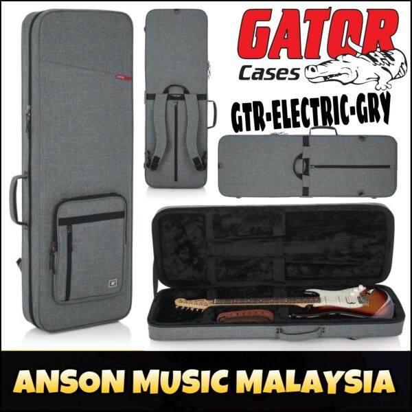 Gator GTR-ELECTRIC Transit Lightweight Electric Guitar Case, Grey (GTR-ELECTRIC-GRY)(GTRELECTRIC) Malaysia