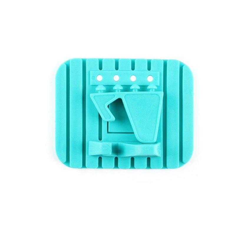Top Silikon Mobil Tempat Ponsel Mobil Anti-Selip Slot Kartu Telepon Pusat Desktop