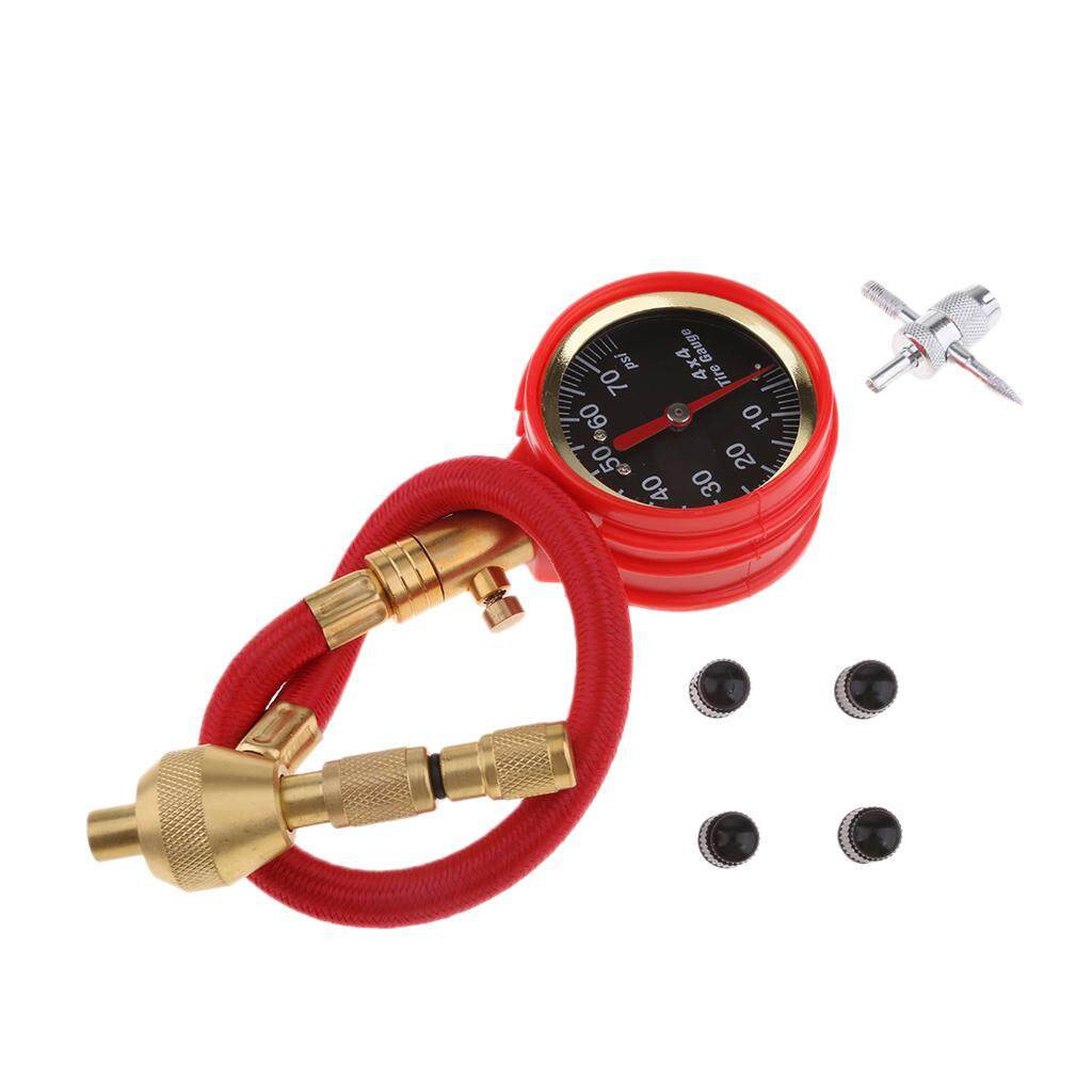 Gazechimp Rapid Tire Deflator 0-70 Psi Pressure Gauge Precision Instruments By Gazechimp.