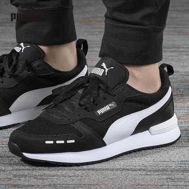 『luckyleaf Sports』puma 2020 Summer New Puma Shoes Mens Shoes Womens Shoes Low Top Wear-Resistant Casual Shoes Contrast Light Sports Shoes 373117-01.