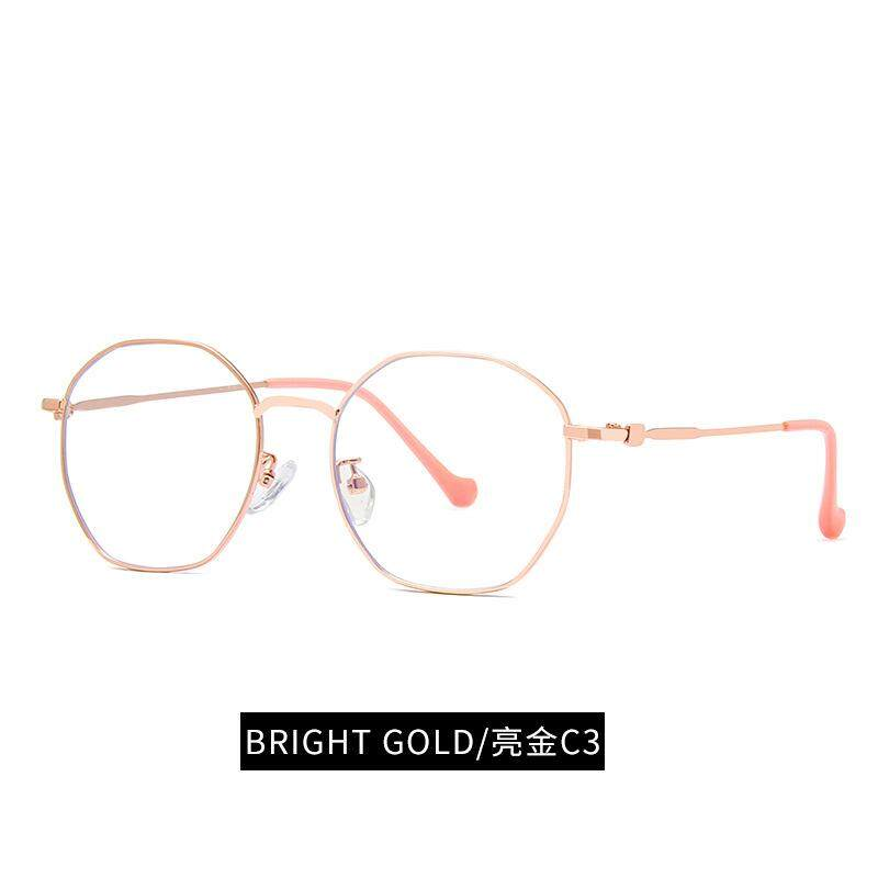 BETRARE Fashion Unisex Polygon Anti Blue Ray Glasses Computer Game Cellphone Protective Eyeglasses Eyewear for Man Woman