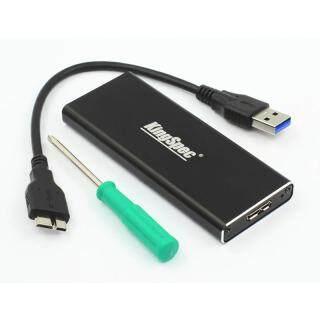 Vỏ Ổ Cứng SSD Kingspec USB 3.0 Đến M.2 NGFF 2230 2242 2260 2280 thumbnail