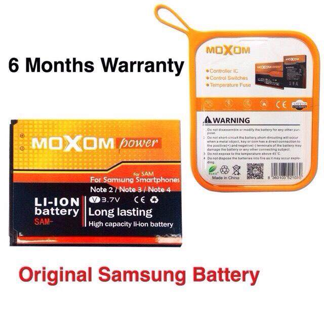 Original Moxom Samsung Galaxy Note 3 Battery