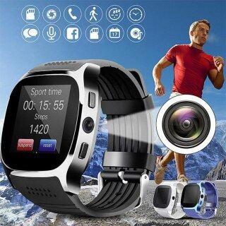 Đồng Hồ Thông Minh Bluetooth T8 Có Camera, Hỗ Trợ SIM, Đếm Bước Chân, Thẻ TF, Đồng Hồ Thể Thao Cho Nam Và Nữ, Gọi Điện Cho Điện Thoại Android thumbnail
