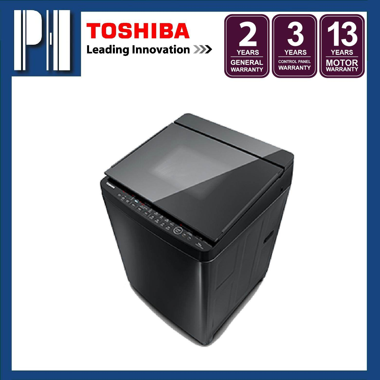 TOSHIBA AW-DG1600WM(SK) 15KG S-DD Inverter Fully Auto Washing Machine/Washer