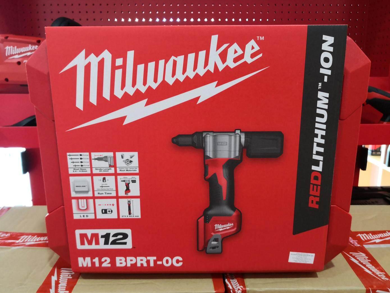 Milwaukee M12 BPRT-0C Brushed Rivet Tool (Bare)