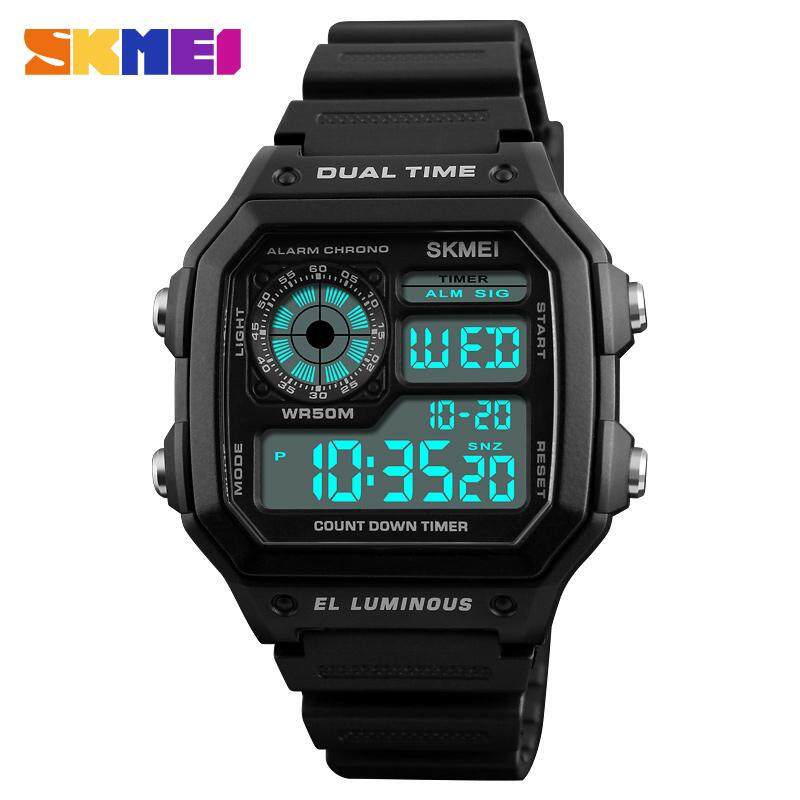 SKMEI Sports Watch Men Top Brand Luxury Famous LED Digital Watches Male Clocks Mens Watch For man 1299 Malaysia