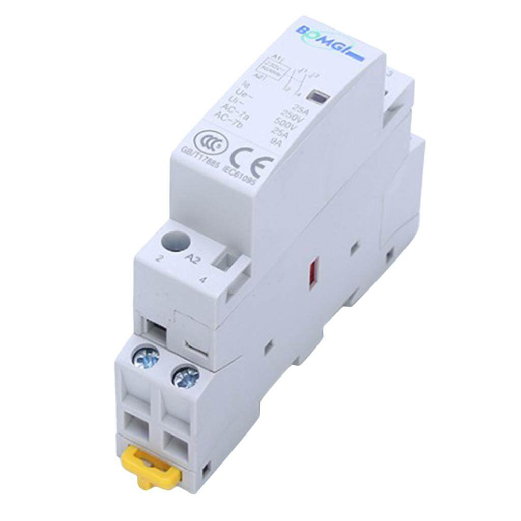 Blesiya AC Modular Contactor 2P 16A 2NO 230V Household Contactor Din Rail Type
