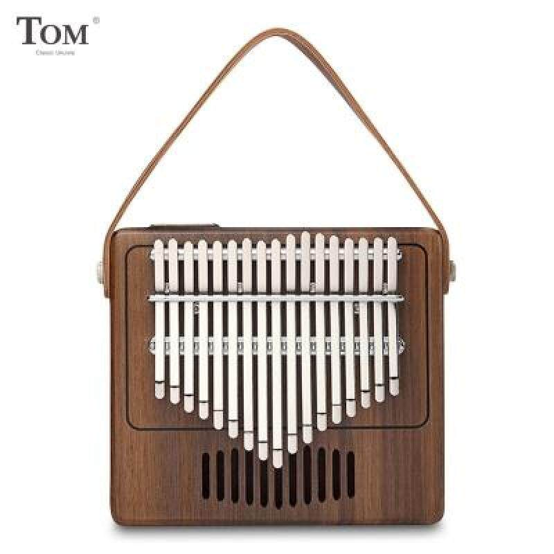TOM TK - R1 17-key Kalimba Thumb Piano Walnut Wood Musical Instrument (COFFEE) Malaysia