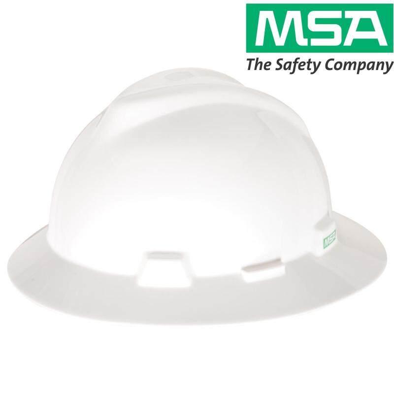 MSA SAFETY HELMET V-GARD HAT FASTRAC