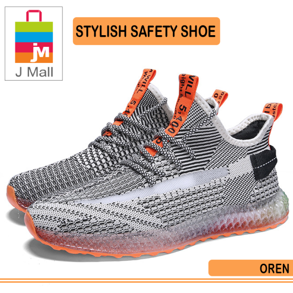 J Mall Fashion Style Sport Shoes Men Soft Breathable Protect Shoes High Style Lightweight / ELegant Trendy L-2229 - Orange / Yellow